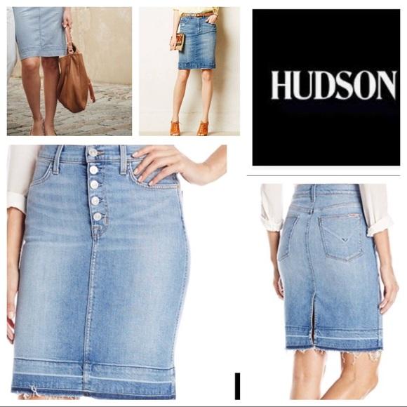 a581034f2 Hudson Jeans Skirts | Hudson Remi High Waist Pencil Skirt | Poshmark